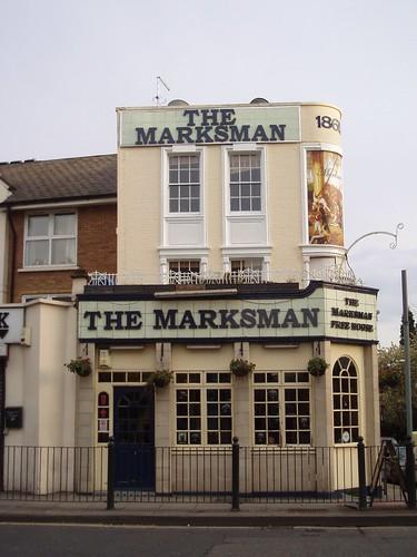 Marksman, Bethnal Green, E2