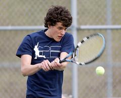 HS Tennis. April 2008.