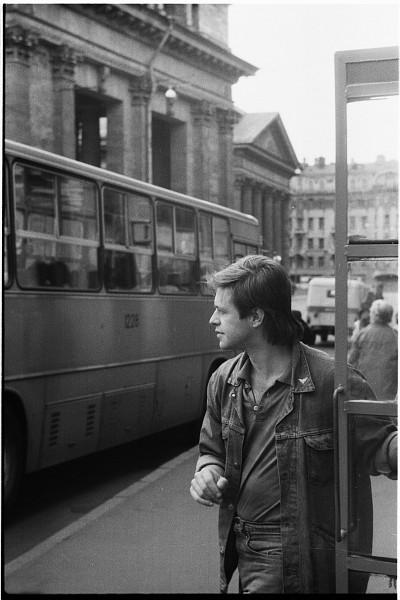 Борис Гребенщиков. Ленинград 1987