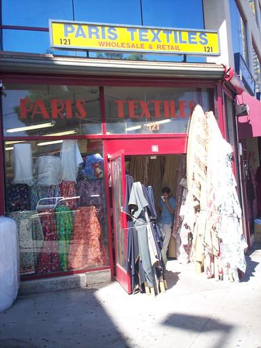 Paris Textiles LA, CA
