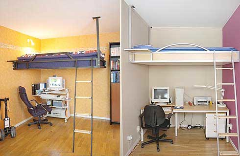 Compact Loft for Small Apartment Solution | Home Trends | Decoration | Gardening from momoy.com