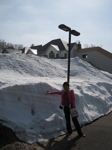雪超厚的!
