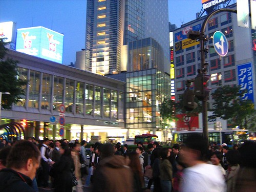 Shibuya at night