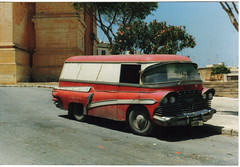 Malta Bedford Van (Berresfordsmotors) Tags: holiday ford beach austin bedford europe malta retro 1950s rockabilly 50s morris van rocknroll freeport hillbilly bmc vauxhall commer rootesgroup commercialvehicle buggiba maltabus morriscommercial prettybay lightcommercial