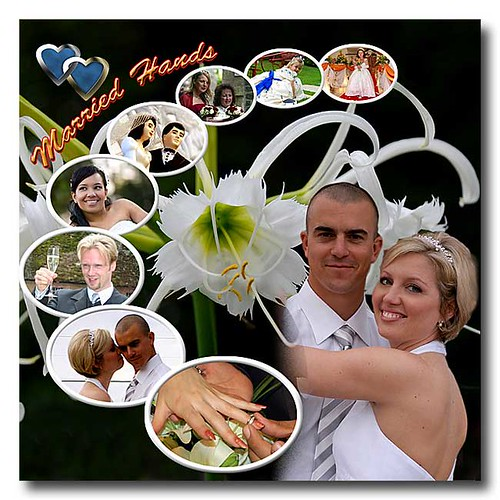 collage ideas for pictures. Wedding Photo Collage by