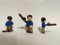 Ash Williams (josh tittarelli) Tags: evildead ashveevildead campbell bruce williams ash minifigure custom lego