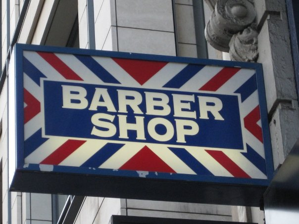 aleks- barber shop fleet street