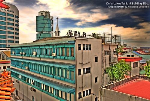 Sibu Wah Tat Bank Building. Click for larger view