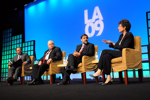 Panel with Ray Suarez at NAFSA 2009