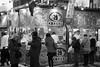 Feed me warm (Marquisde) Tags: people bw food snow festival japan stand blackwhite sapporo streetphotography stall 7d yukimatsuri canonefs1585mmf3556isusm