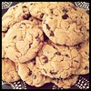 cookies for deborah (Janine Graf) Tags: cameraphone food apple cookies dessert sweet ken barbie cher chocolatechip bionicwoman chocolatechipcookies donnyosmond jamiesummers iphone4 iphonephotography janine1968 crispyontheoutsidechewyontheinside