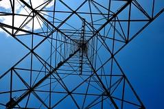 Aerial tower (ohminus) Tags: radio sweden longwave worldheritage telegraphy grimeton beginnerdigitalphotographychallengewinner