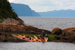 Kayak sur le Fjord du Saguenay, Petit-Saguenay (c) Charles-David Robitaille (C'est gant!) Tags: kayak fjord t ansestjean