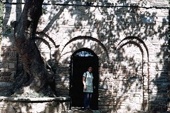 Sandy at Mother Mary shrine (Meryem Ana) near Ephesus, Turkey (ali eminov) Tags: architecture buildings turkey sandy trkiye shrines ephesus meryemana turkei mothermaryshrine