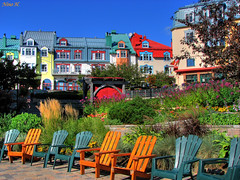 The colors of Mont-Tremblant (Nino H) Tags: canada colors architecture quebec couleurs qubec hdr monttremblant touriste mywinners abigfave colorphotoaward colourartaward theperfectphotographer