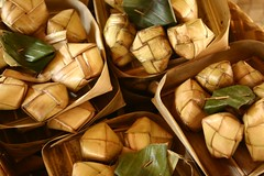ketupat (Farl) Tags: travel bali colors leaves indonesia rice coconut ceremony culture nusadua ketupat packets puso cebusugbo pantaimengiat