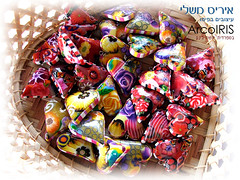 Polymer Clay Heart Pillow Beads (Iris Mishly) Tags: ceramica art cane arcoiris pen israel hand heart handmade jewelry pillow polymerclay fimo clay canes bead handcrafted pens decor judaica classes polymer millefiori hamsa embelishment arcila regesh ceramicaplastica irismishly   polimerica hamsas arcillapolymerica