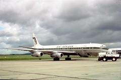 "TU-TCA, Air Afrique, DC.8.53, ""Abidjan"", LBG/LFPB, late 60s, courtesy Jacques Guillem (AlainDurand) Tags: airports douglas airlines lbg airliners abidjan dc8 jetliners douglasdc8 airafrique lfpb parislebourget dc853 douglasdc853 airlinesoftheworld airlinesofafrica jacquesguillem tutca"