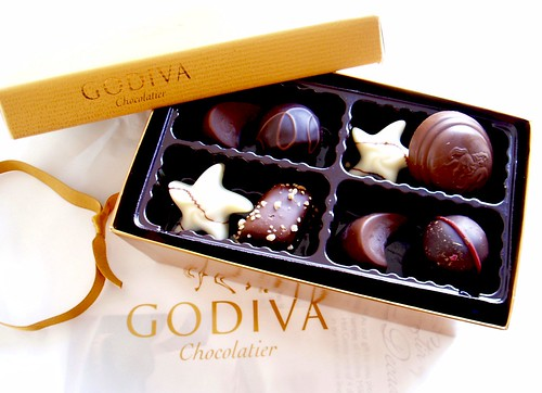 a bit of godiva happiness