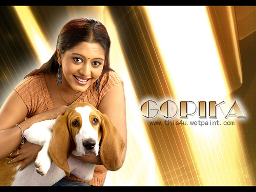 Actress Gopika wallpaper