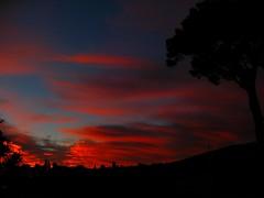 rosso di sera (amemainda) Tags: tramonto nuvole rosso sfidephotoamatori