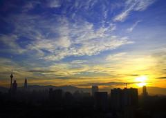 Sunrise Kuala Lumpur - by pjfncs27