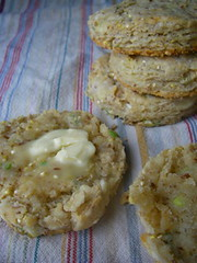 WG Blue Cheese & Scallion Biscuits