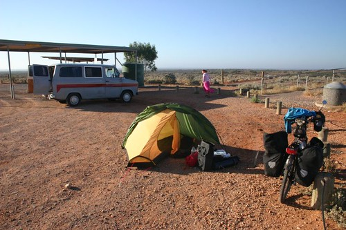 Rest area camp at the Ranges View...