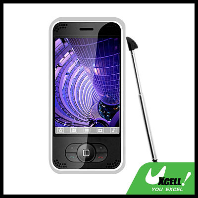 """OZONE TRI-BAND bluetooth 3.3"""" 260K Color TFT Screen Dual Card Cell phone 128MB T-Flash"""