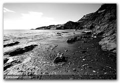 the shore of time (J. Carlos Roldn) Tags: sea blackandwhite bw blancoynegro beach canon landscape sigma playa paisaje bn 1020mm 30d almuecar jcroldan aplusphoto infinestyle