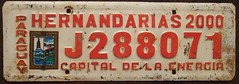 PARAGUAY Hernandarias 2000 passenger SLOGAN (woody1778a) Tags: world auto signs canada cars car sign vintage edmonton photos tag woody plate tags licenseplate collection number photographs license plates paraguay foreign oddball numberplate licenseplates numberplates licenses rarity cartag carplate carplates autotags cartags autotag foreigns alpca pl8s worldplates worldplate foreignplates platetag