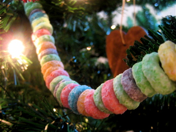 fruit loop garland