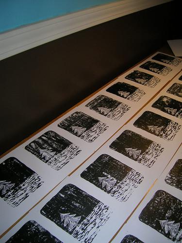 Wintery Prints