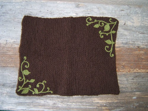 Felted Hot Pad
