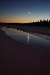 Tide Mark at Dusk (village indian) Tags: native aboriginal jamesbay moosefactory cree eow anawesomeshot derekmcleod