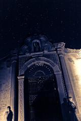 There are still Stars in the Sky (Luis Montemayor) Tags: graveyard night stars mexico noche cementerio explore estrellas cementery realdecatorce sanluispotosi dflickr dflickr180307