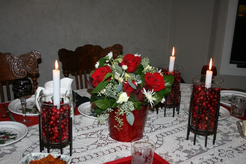 Linda's Table setting