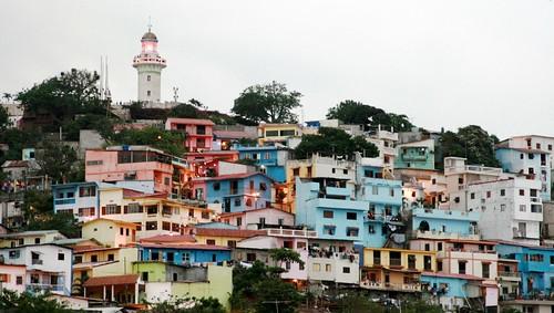 Barrio Las peñas, Guayaquil, Ecuador by Carlos Adampol.