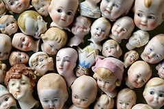 Crowded Heads (zoom in tight) Tags: china vintage children dolls babies faces expressions heads dollheads bodyparts porcelain golddragon anawesomeshot diamondclassphotographer flickrdiamond theunforgettablepictures
