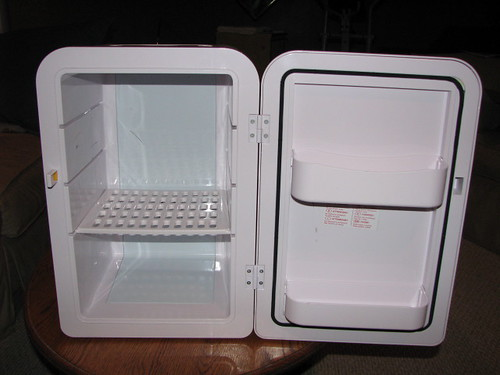 Google Fridge: Innards