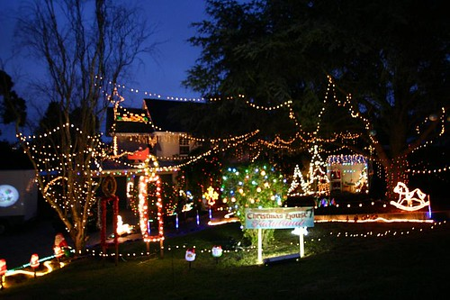 Mt. Gambier Christmas House...