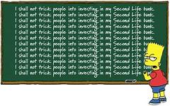 Second Life Banking Ban: Bart to blame! di VintFalken