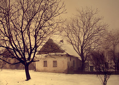 I Lived In A Fairytale (Aleksandra Radonic) Tags: trees winter mist snow beautiful childhood architecture fairytale freedom exploring serbia documentary social oldhouse macedonia past w1 ambar balkan vojvodina banat oldyard balkanarchitecture balkanstreets balkanhouses memoriesofthemostbeautifulwomanintheworldmygrandmother woiwodschaftserbienundtemescherbanat dieserbischewojwodschaftunddastemeserbanat