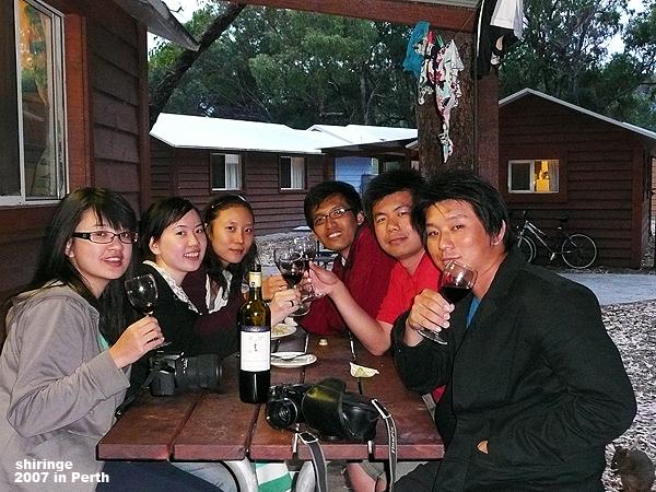 飯後來杯紅酒, 人生真是寫意