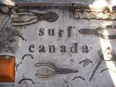 Surf Canada (JRGuinness) Tags: canada austin outdoors surf texas cement pliers cathedralofjunk