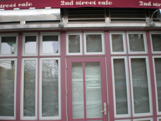 Second Street Cafe Closed
