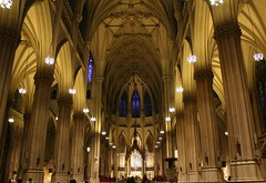 Saint Patrick's Cathedral-NYC (teacherholly) Tags: newyorkcity newyork church catholic stpatrickscathedral holy saintpatrickscathedral supershot anawesomeshot