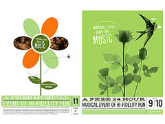 Wink : posters for Marshall Field's (Grain Edit.com) Tags: flowers green birds typography design graphicdesign graphic contemporary posters brochures wink marshallfields branding musicposters