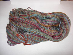 Dublin Bay sock yarn 1