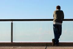 Point of view (ori.luzia) Tags: blue sky people beach clouds view tel aviv jeanse